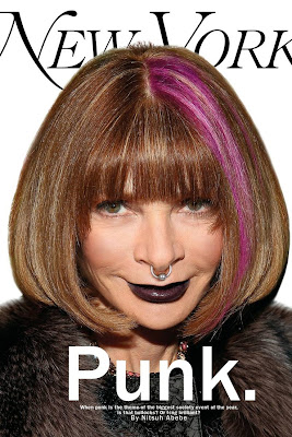 Anna Wintour, The Met Ball, New York Magazine, Punk