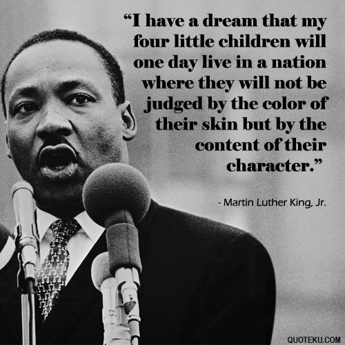 Martin Luther King Jr Quotes I Have A Dream Fascinating Martin Luther King  Lessons  Tes Teach