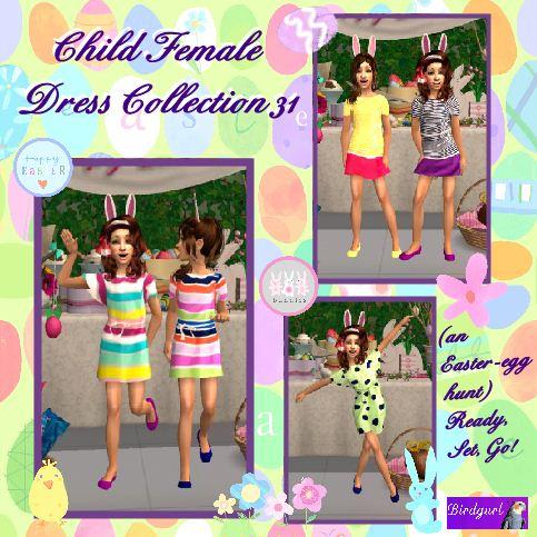 Sims 2 summer dress pattern