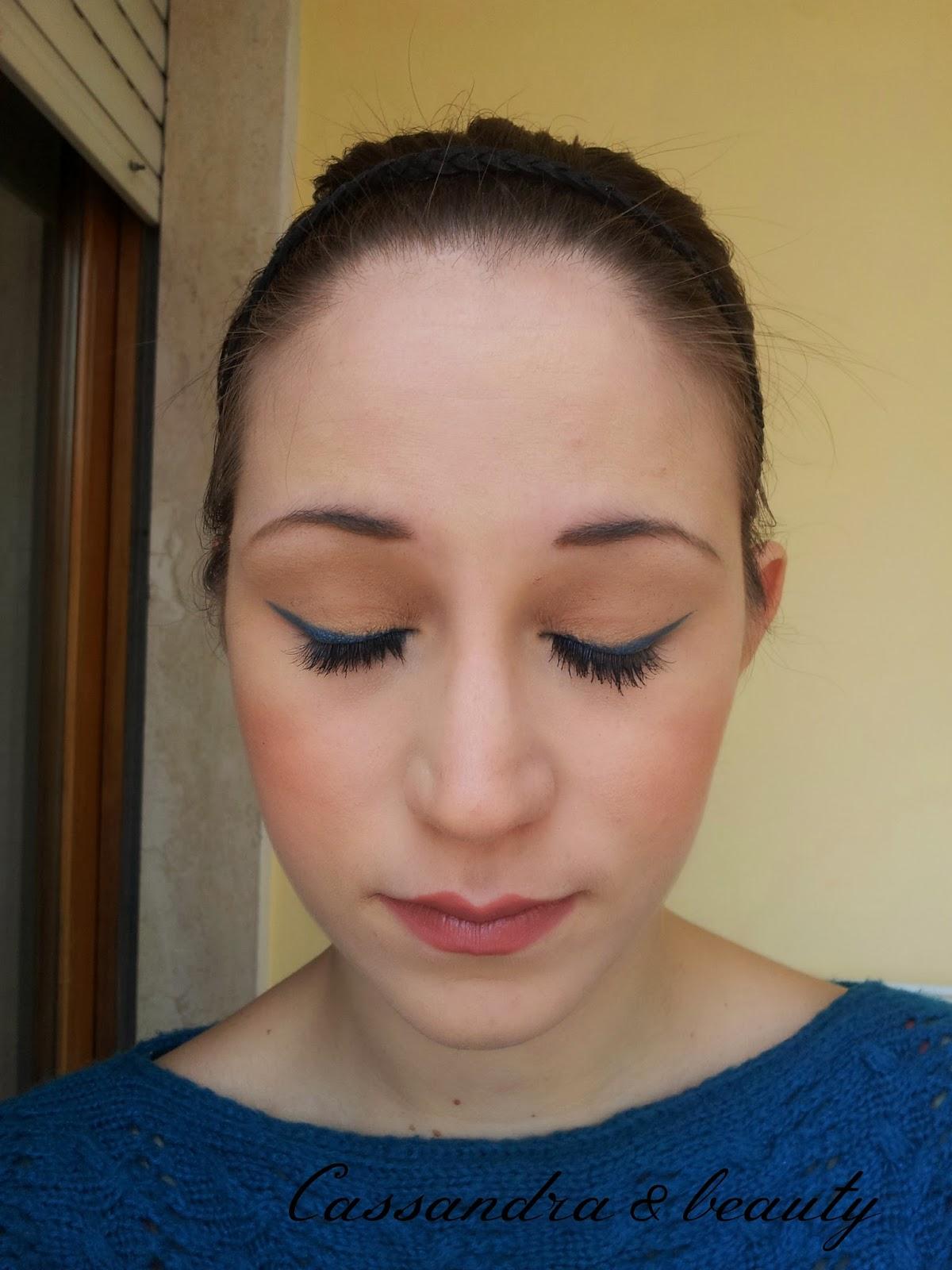 FOTD #2: un po' di eyeliner blu
