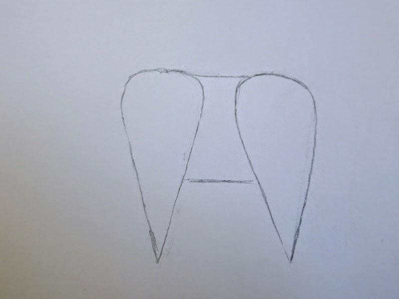 how to draw a llama head