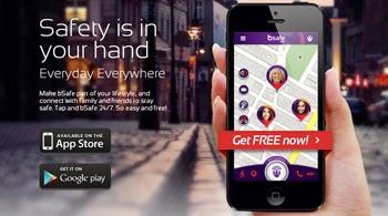 Sientete protegido con Bsafe en tu iPhone o iPad