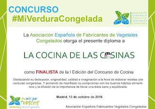 FINALISTA- I Edición #MiVerduraCongelada