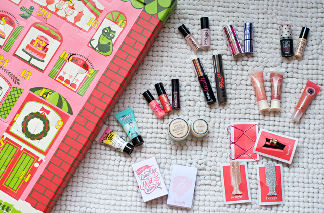 benefit candy-coated countdown Advent calendar review