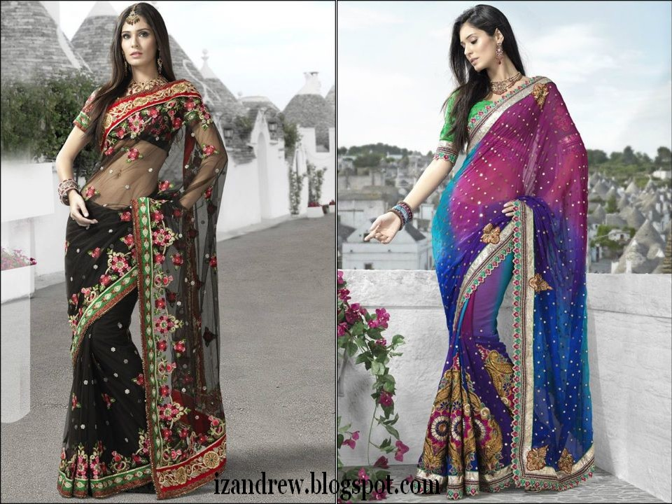Bridal Sarees 2012 | Silk Sarees/Saris | Indian Designer Saree Blouse