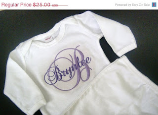 gown, infant, hospital, going home outfit, personalized