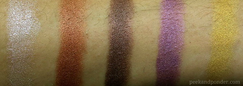 BA Star swatches