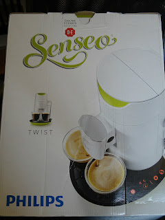 Douwe Egberts Senseo Twist Coffee Machine, Senseo Twist, Phillips Coffee machine