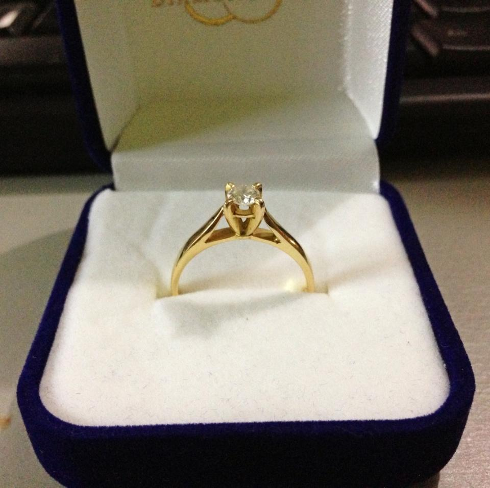 Our Engagement Ring From Diamond Fire