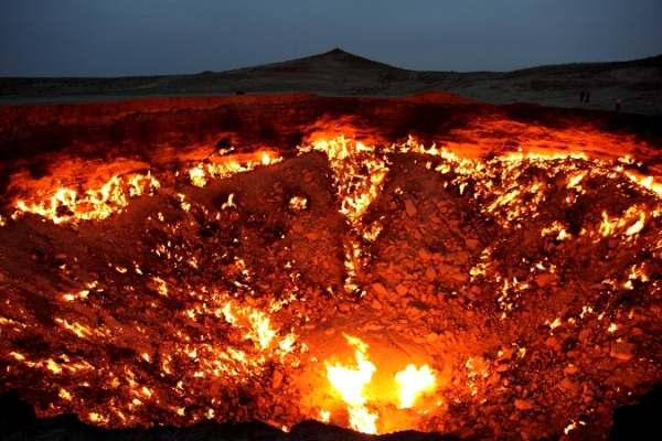 Lubang Api, Turkmenistan