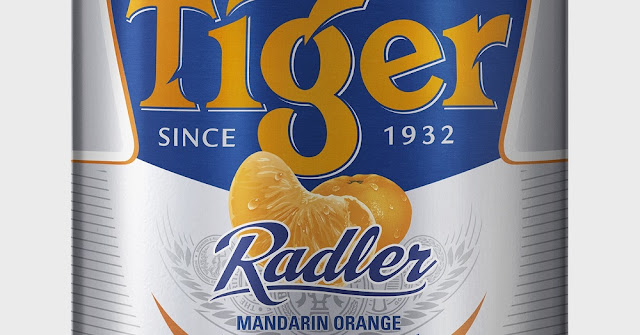 Tiger Radler Mandarin Orange 1