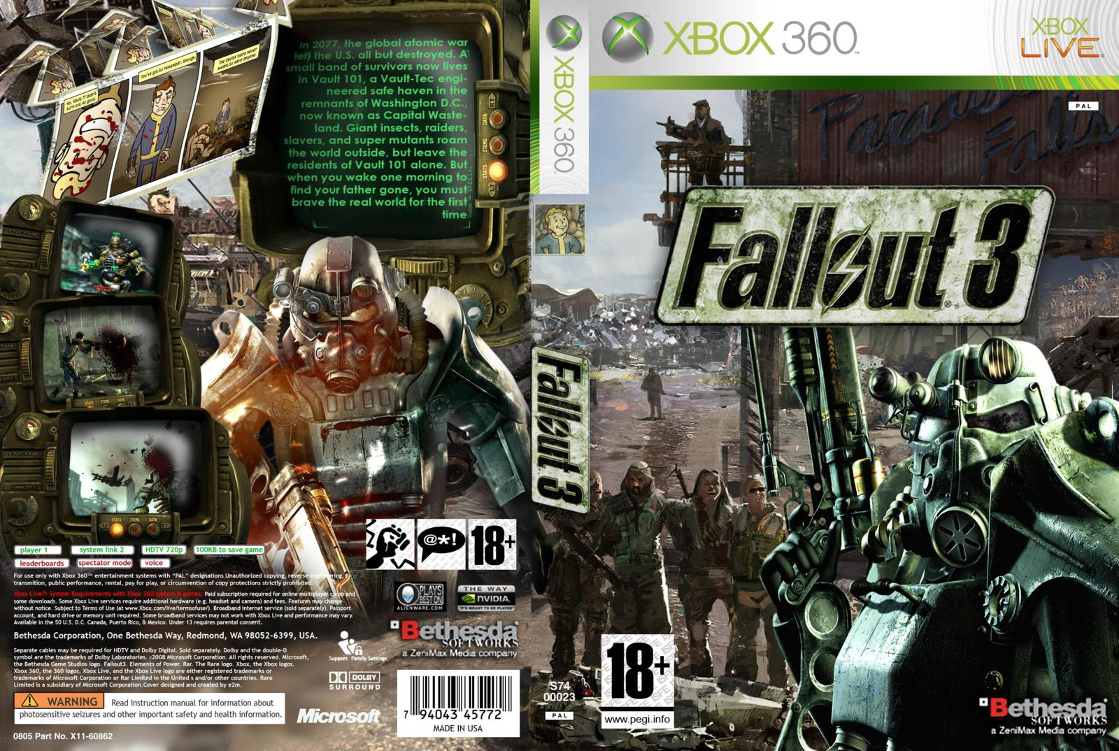 Fallout 3 nude patch xbox 360 hentai muscle daughters