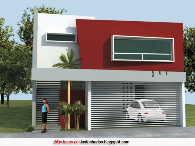 Colores para fachadas de casas feng shui fachadas de for Colores para casas minimalistas