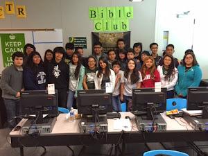Bible Club Members 2014-15