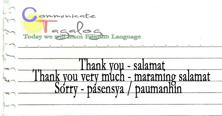 learn how to speak philippines