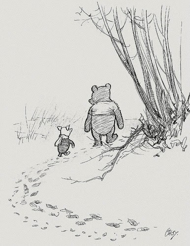 WHEN PIGLET ASKED POOH