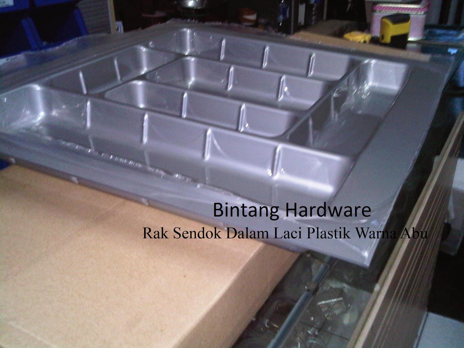 Rak sendok garpu pisau bahan plastik bintang hardware for Pemasangan kitchen set