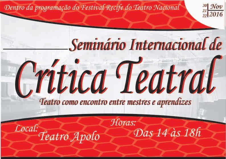 Seminário Internacional de Crítica Teatral