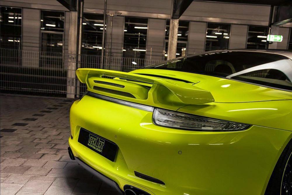 Porsche 911 Targa 4 preparado por TechArt