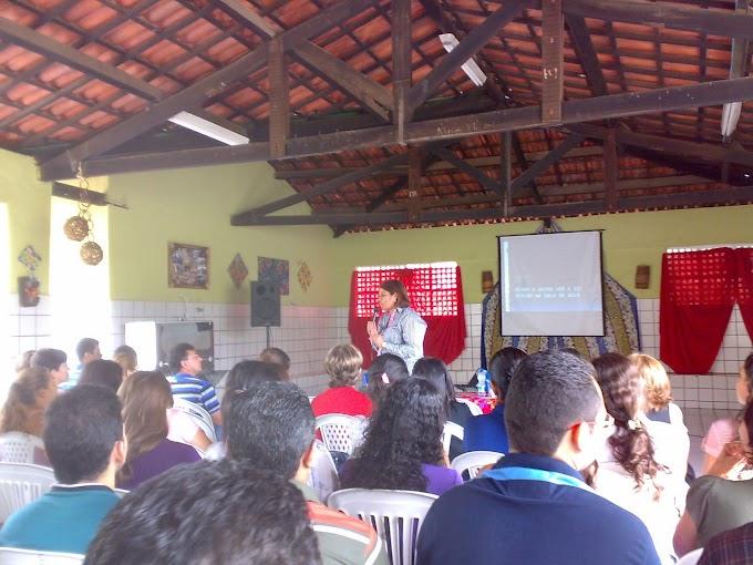Professores da Escola Santa Tereza participam de palestra da SEDUC em Nova Olinda