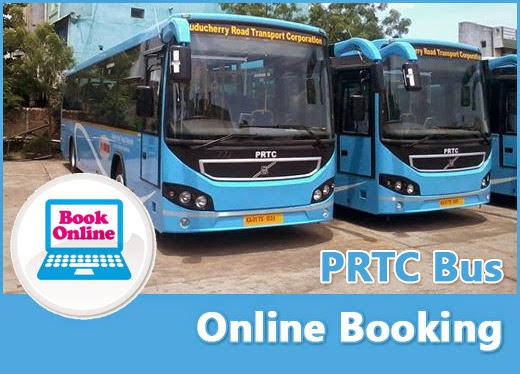 Book PRTC bus tickets online from http://www.prtc.in/PRTCOnline/