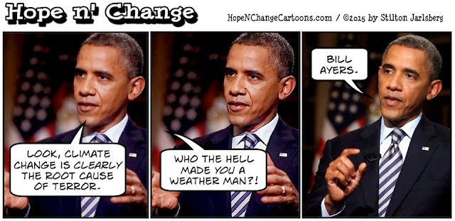 obama, obama jokes, political, humor, cartoon, conservative, hope n' change, hope and change, stilton jarlsberg, coast guard, climate change, national security, bill ayers, terror