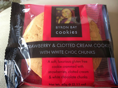 byron bay strawberry clotted cream white choc chunk cookie