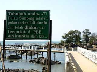 Pulau Simping – Pulau Terkecil - 7 Rekor Dunia Asal Indonesia