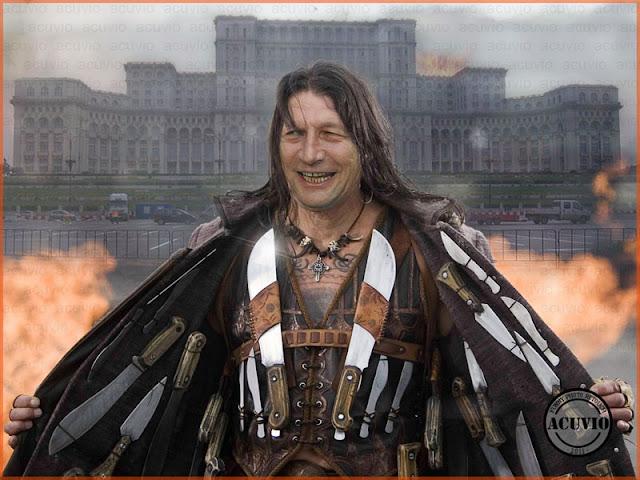 Funny photo Traian Basescu Republica Prezidenţială România
