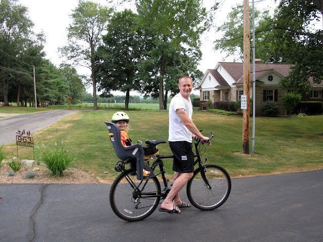 Bike Riding with Daddy