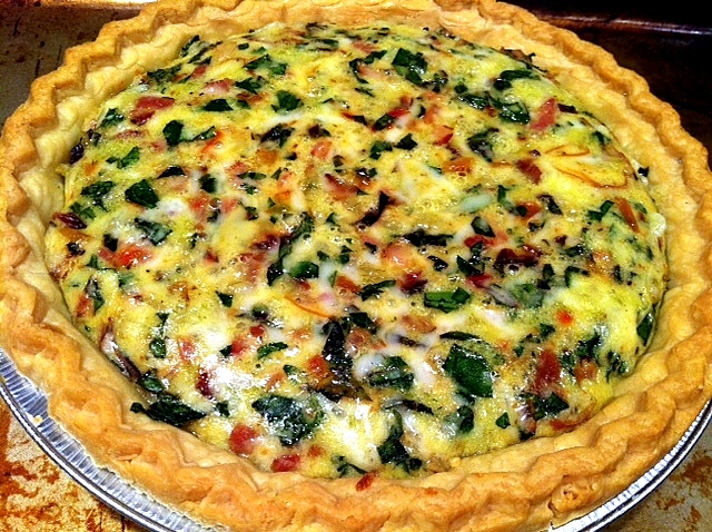 Lindseys luscious ahhhhunch trisha yearwoods country quiche source food network forumfinder Choice Image