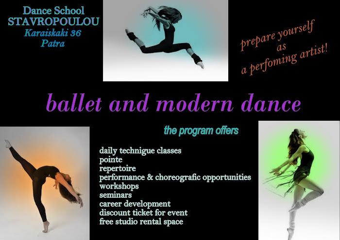 ballet and modern class adaults