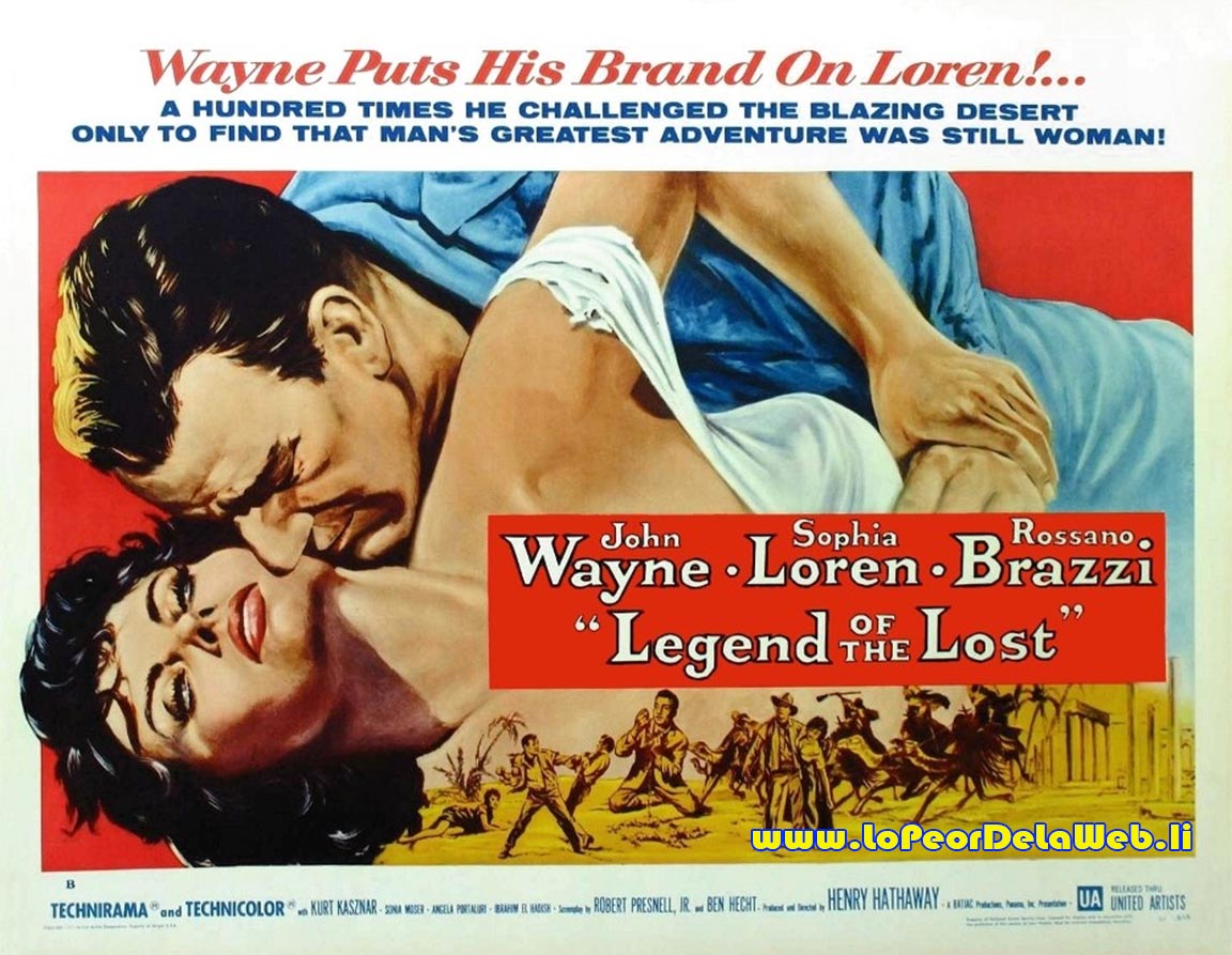 Legend of the Lost (1957 / J. Wayne / S. Loren)