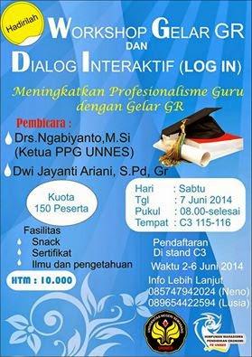 Dialog Interaktif Gelar Sertifikasi, Meningkatkan Professionalisme Guru dengan Gelar GR!