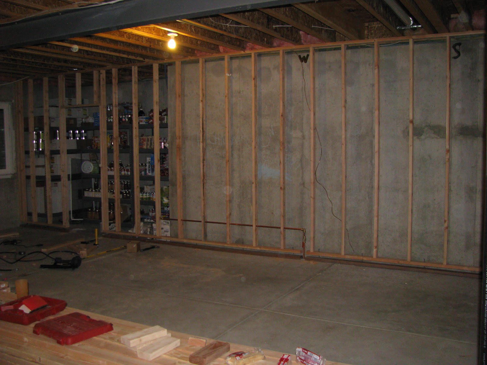 basement project