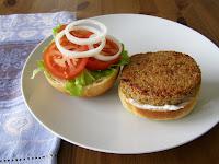 Veganized Mushroom Gardenburger