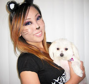 Later when I got home I also decided to do some cat makeup just for fun :)