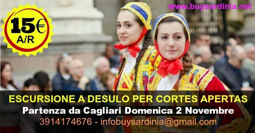 CORTES APERTAS: ESCURSIONE A DESULO  DA 15€  CON PARTENZA DA CAGLIARI