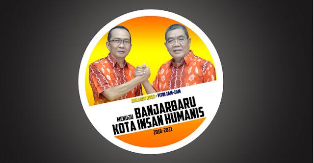 Ruzaidin Noor dan Fitri Zamzam Calon Walikota dan Wakil Walikota Banjarbaru 2015 | Jujur, Bersih dan Amanah | Dua Orang Baik Untuk Banjarbaru Lebih Baik