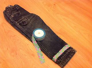kid jeans refashion