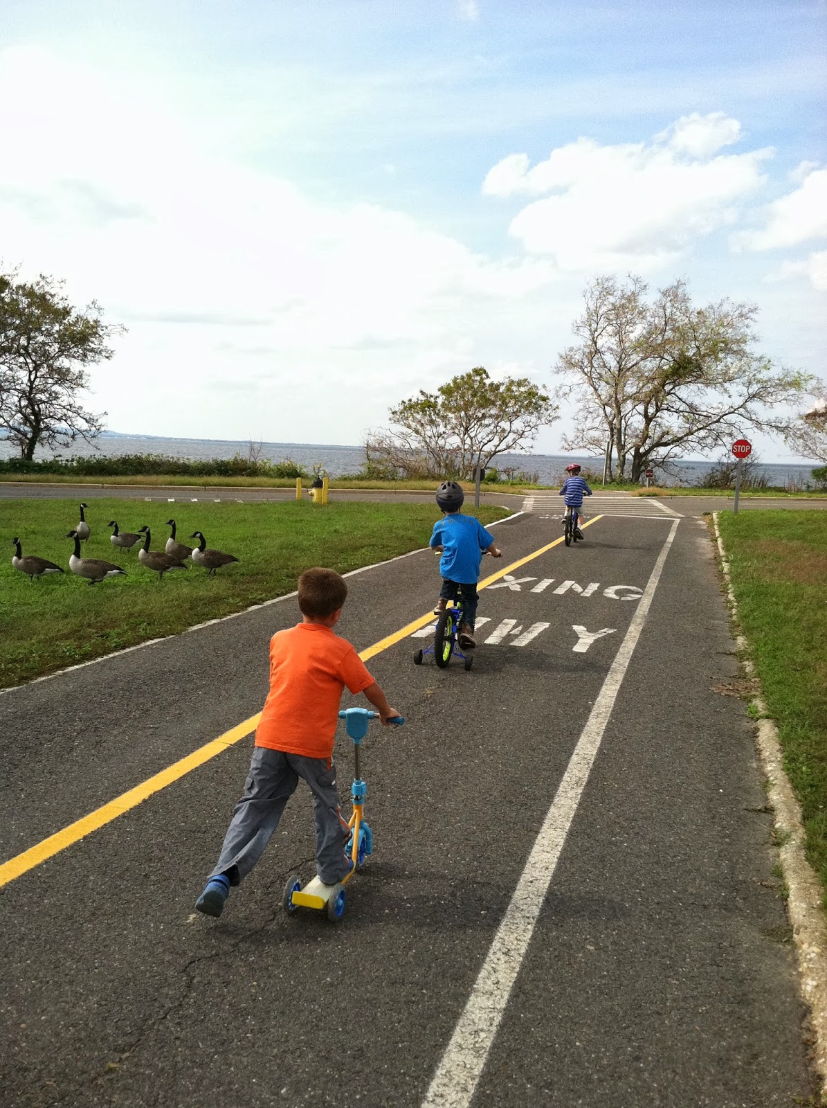 taking off the training wheels and learning to ride