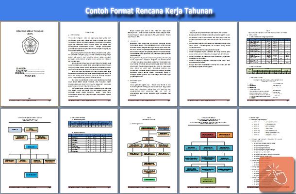 Contoh Format Rencana Kerja Tahunan (RKT) untuk SD