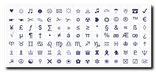 clavier symbole