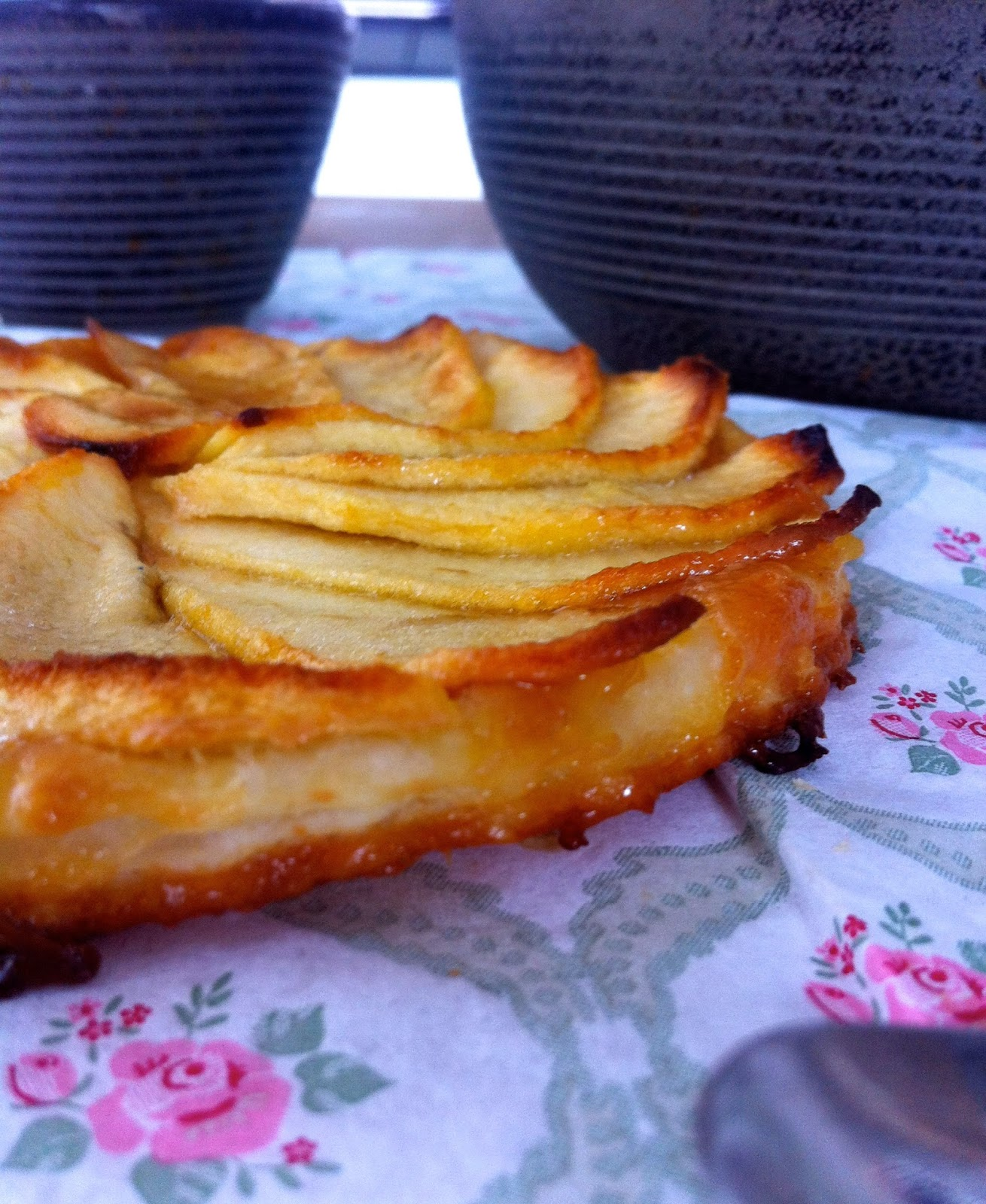 tarte, tartelette, pomme, caramel beurre salé, automne