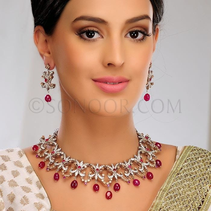 Sonoor Traditional Jewelry Designs 2015 Indian
