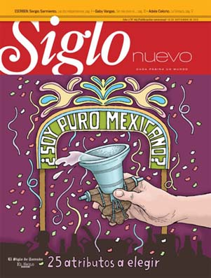 Participación en portada e interiores. Torreón Septiembre 2012