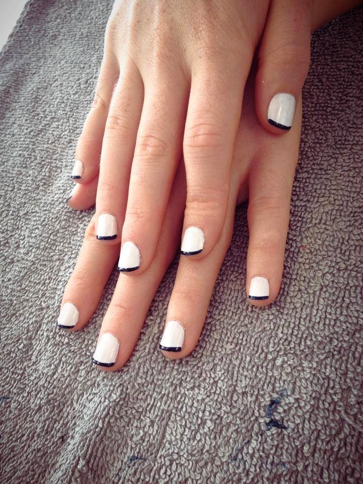 Diner en Blanc: Black & Blanc Manicure by Noktivo Spa | all dressed up with nothing to drink...