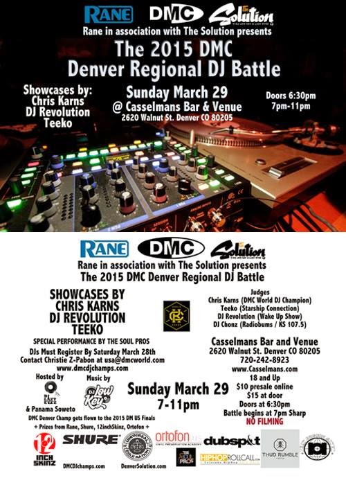 DMC Denver Regional DJ Battle 2015