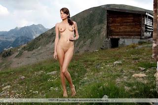 Megamodelo - en la montaña