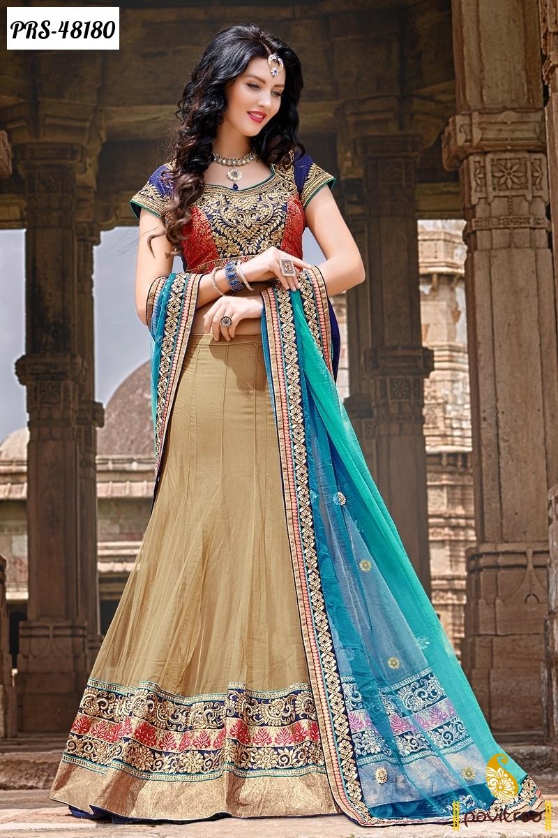 Latest Designer Lehenga Sarees Online Shopping For Diwali